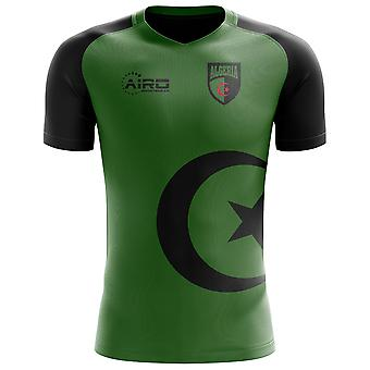 2020-2021 Algeria Flag Concept Football Shirt (Kids)