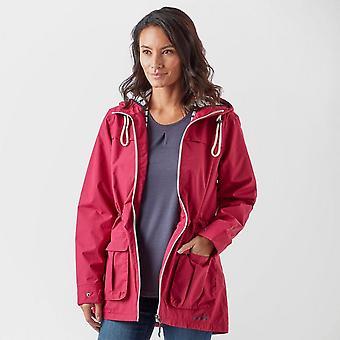New Peter Storm Women's Weekend Waterproof Long Sleeve Jacket Pink