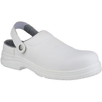 أمبليرس سلامة FS512 رجالي تسد الأبيض سلامة ماء أحذية بيضاء