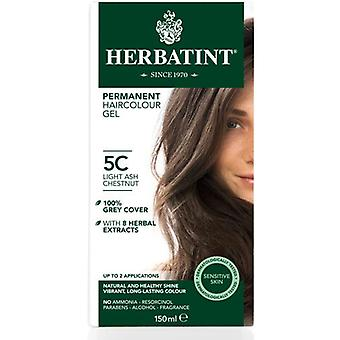 Herbatint, Light Ash Chestnut Hair Col 5C, 150ml