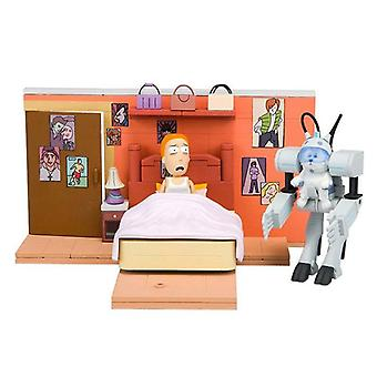 Rick and Morty Construction Set Call me Snowball Bausatz, bunt, aus Kunststoff, 129 Teile.
