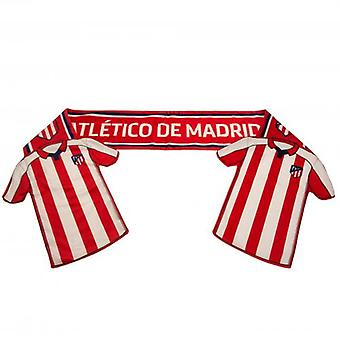 Atletico Madrid Shirt Scarf