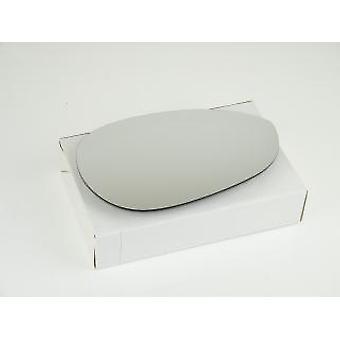 Vidrio espejo lateral del conductor derecho (no calentado) y soporte para Fiat PUNTO 2012-2017