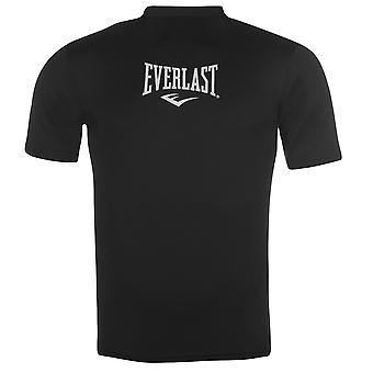 Everlast Mens curto superior Baselayer compressão armadura térmica peles manga longa