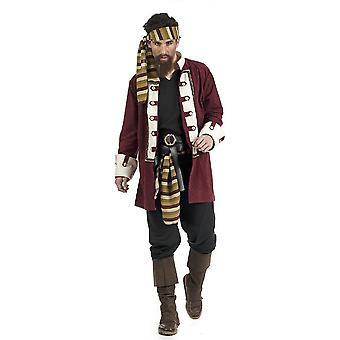 Kosarenpirat Herrenkostüm Freibeuter Störtebeker Herren Kostüm