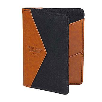 Gentlemen's Hardware Charcoal Canvas Wallet