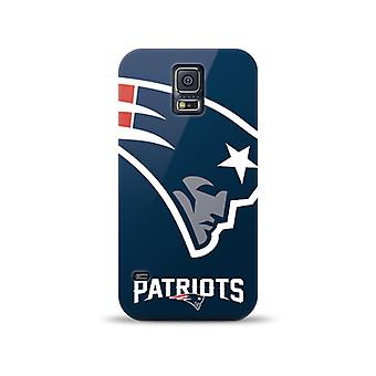 5 Pack -Mizco Sports NFL Oversized Snapback TPU Case for Samsung Galaxy S5 (England Patriots)