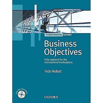 Zakelijke doelstellingen internationale editie: Business doelstellingen internationale editie Student Pack: Student boek Pack (Oxford Business Engels vaardigheden)