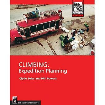 Klättring: Expedition planering (bergsklättrare utomhus Expert)