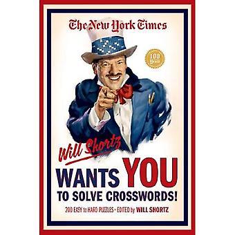 Den New York Times kommer Shortz vill att du ska lösa korsord!: 200 lätt till svårt pussel