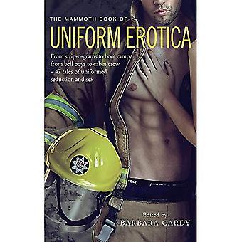 De mammoet boek van uniforme Erotica (mammoet Books)