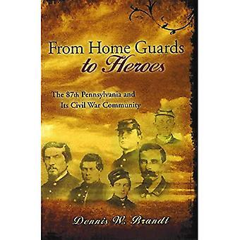 Från hem vakter till hjältar: den 87th Pennsylvania och dess inbördeskrig gemenskapen (nyanser av blått och grått)