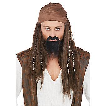 Parrucca pirata dei Caraibi