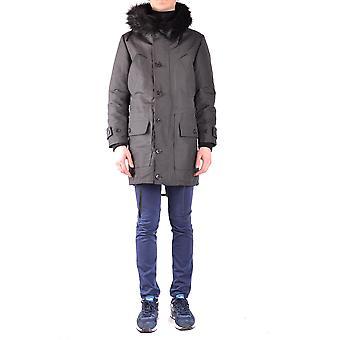 Brian Dales Ezbc126003 Men's Black Viscose Outerwear Jacket