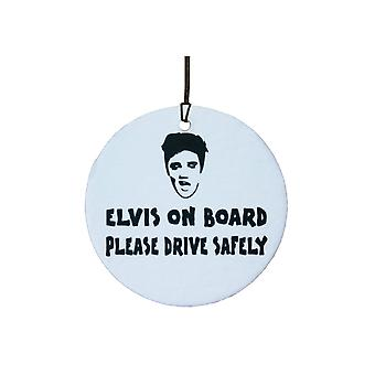 Elvis On Board Car Air Freshener