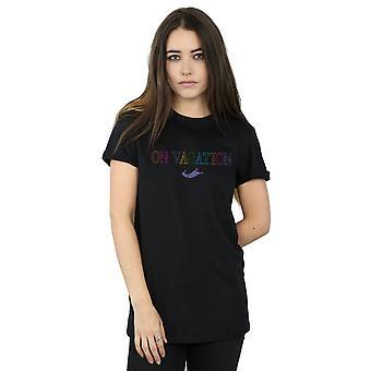 Disney Women's Aladdin op vakantie vriendje fit T-shirt
