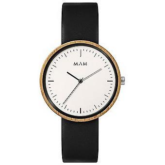 MAM Plano Watch - Black/White