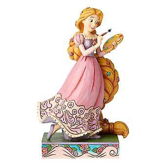 Disney traditions Rapunzel Princess Passion 'Adventurous Artist' Figurine