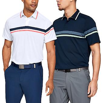 Under Armour Herren Tour Tips Drive Golf Stretch Schnell trocknendes Polo Shirt