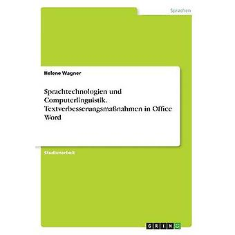 Sprachtechnologien und Computerlinguistik. Textverbesserungsma?nahmen