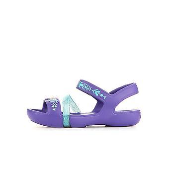 Crocs linje fryst Sandal K ultraviolett 204139506 universal spädbarn skor