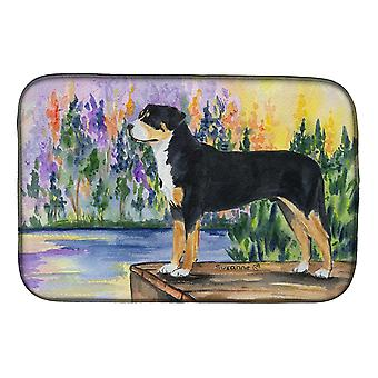 Carolines Treasures  SS8160DDM Greater Swiss Mountain Dog Dish Drying Mat