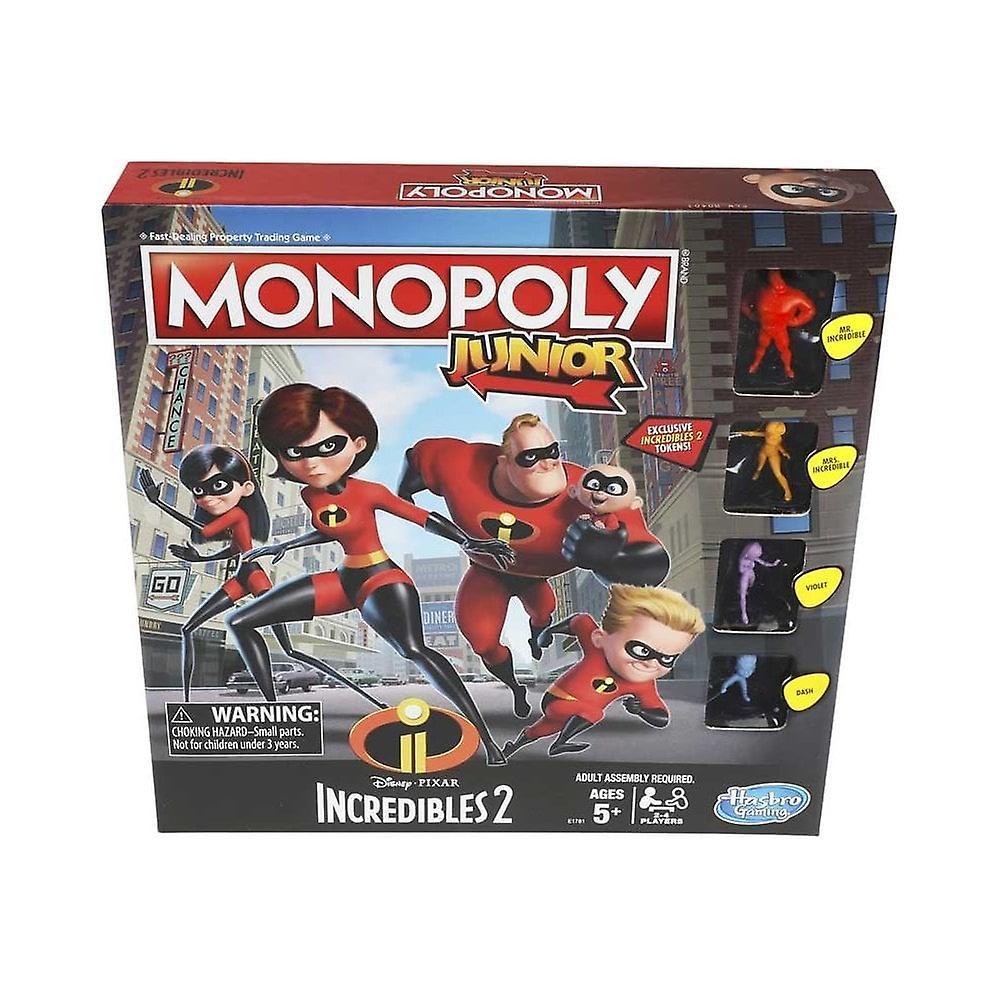 Incredibles monopol Junior bräd spel