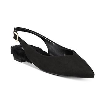 INC internationale begreber Womens Greer læder lukket tå casual slingback S...