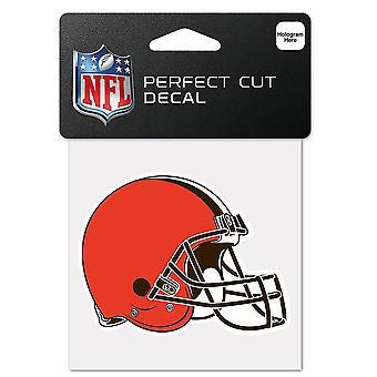 Wincraft Helm Aufkleber 10x10cm - NFL Cleveland Browns