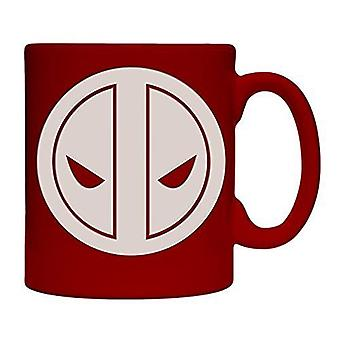 Mug - Marvel - Deadpool Engraved Coffee Cup Licensed cmg-mu-dp2