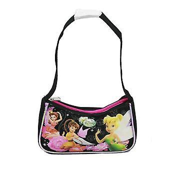 Handbag - Disney - Tinkerbell - Black New Hand Bag Purse Girls Gifts a00184
