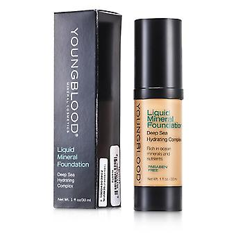 Youngblood Liquid Mineral Foundation - Pebble - 30ml/1oz