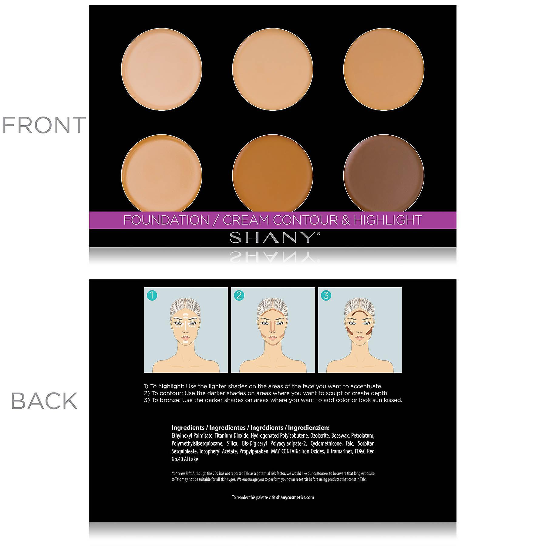 SHANY Mini Masterpiece Makeup Set - 6 Recharges de couches