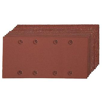 Silverline Perforated sheets of sandpaper autoadh. 93x190 mm, 10 pcs G.Variado