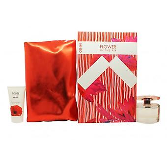 Kenzo Flower Gift Set 50ml EDP Spray + 50ml Balsam do ciała + Etui