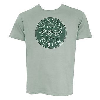 Guinness Bottle Cap Green Tee Shirt