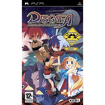 Disgaea eftermiddag Darkness (PSP)-ny