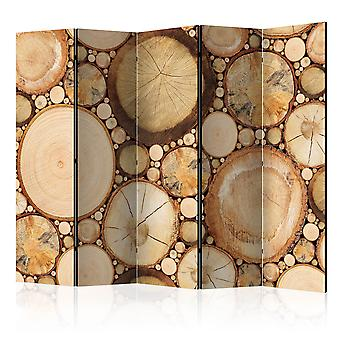 Skærmvæg - Wood grains [Room Dividers]