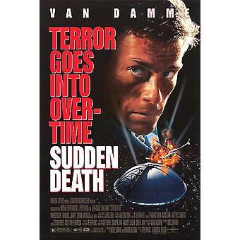 Sudden Death (Reprint) (1995) Reprint Cinema Poster
