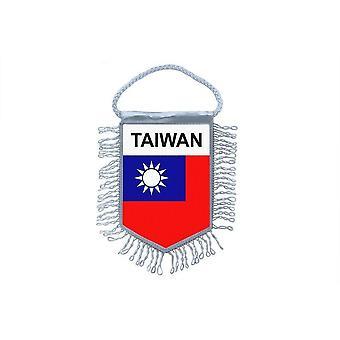 Fanion Mini Drapeau Pays Voiture Decoration Taiwan