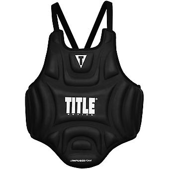 Titel Boxing Infused Foam Influence Body Protector - Black