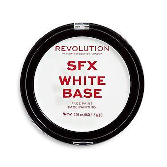 Meikki Revolution SFX valkoinen kerma pohja kasvot maali