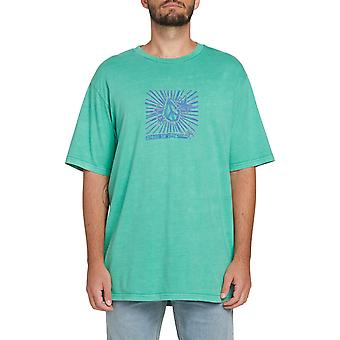 Volcom Prog Star Short Sleeve T-Shirt in verde inverno
