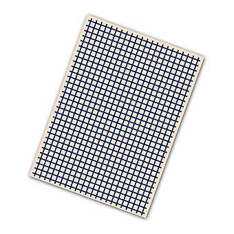 Tattered Lace Card Embossing Folder Design - C6 Trellis