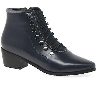Lunar (GRS) Napoleon II Womens Ankle Boots