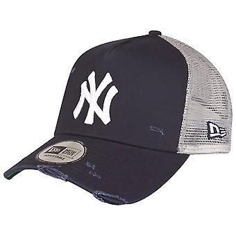Ny æra justerbar Trucker Cap - NØDSTEDTE New York Yankees