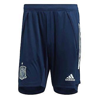 2020-2021 Spain Adidas Training Shorts (Navy)