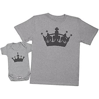 King And Princess - Mens T Shirt & Baby Bodysuit