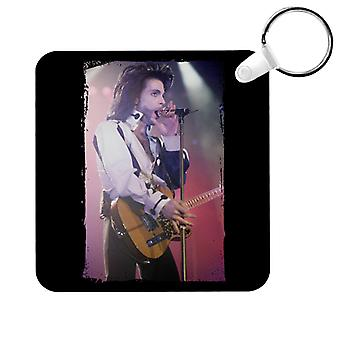 Prince Nude Tour 1991 Performing With Guitar Key Ring