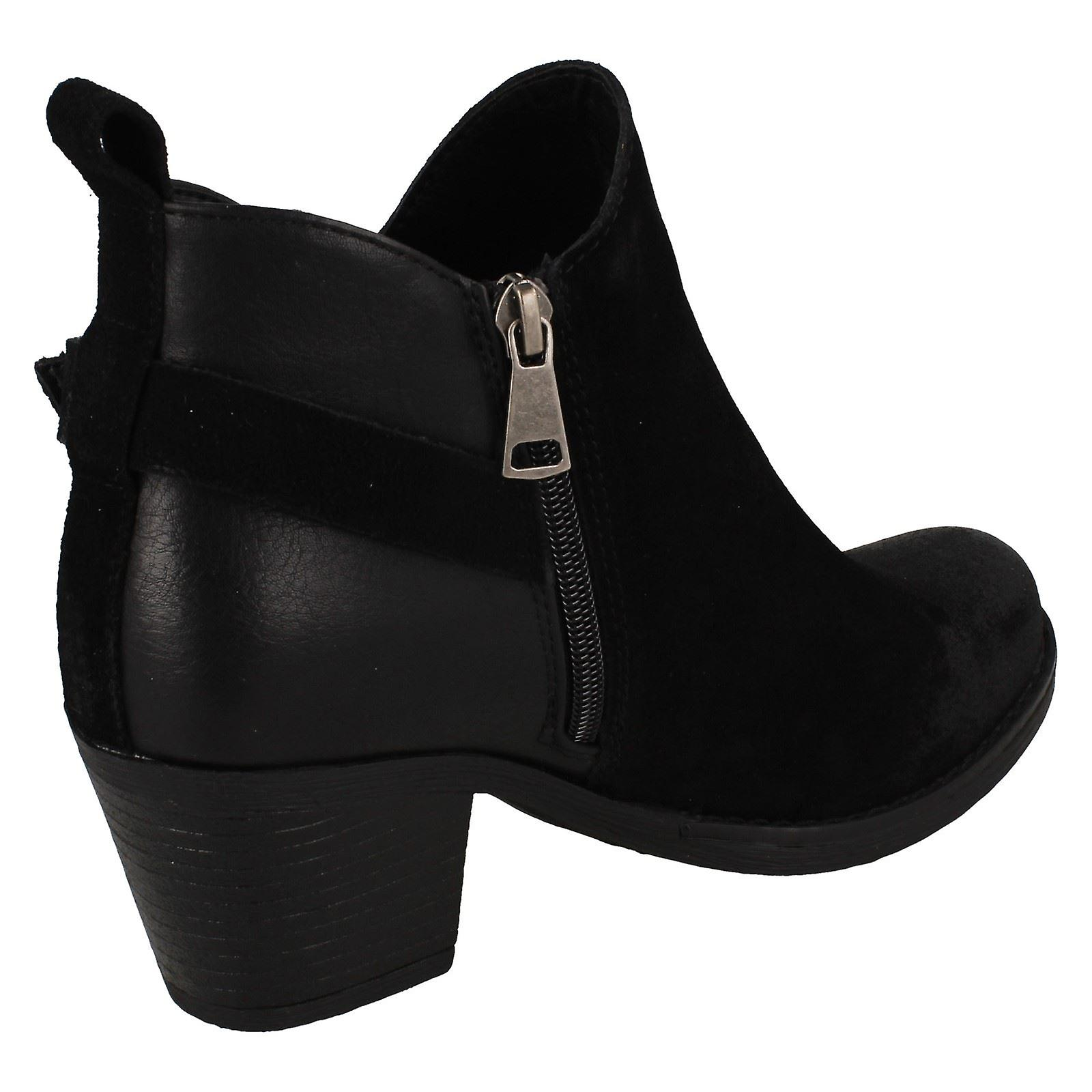 Ladies Down To Earth Ankle Boots